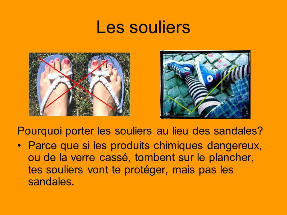 Les souliers Pourquoi porter les souliers au lieu des sandales
