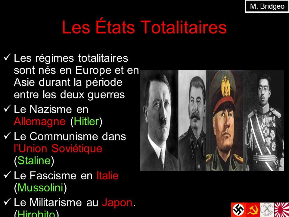 Les États Totalitaires