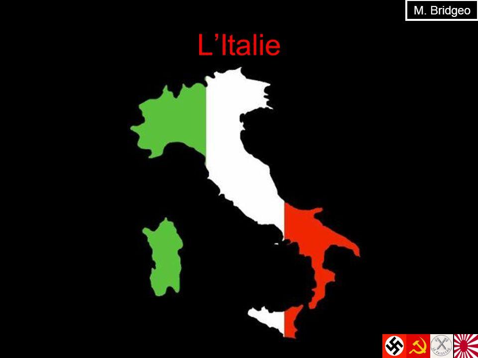 M. Bridgeo L'Italie