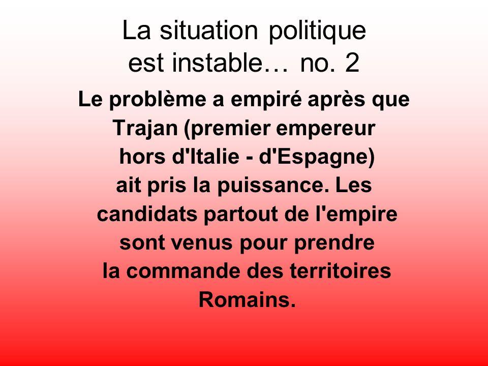 La situation politique est instable… no. 2