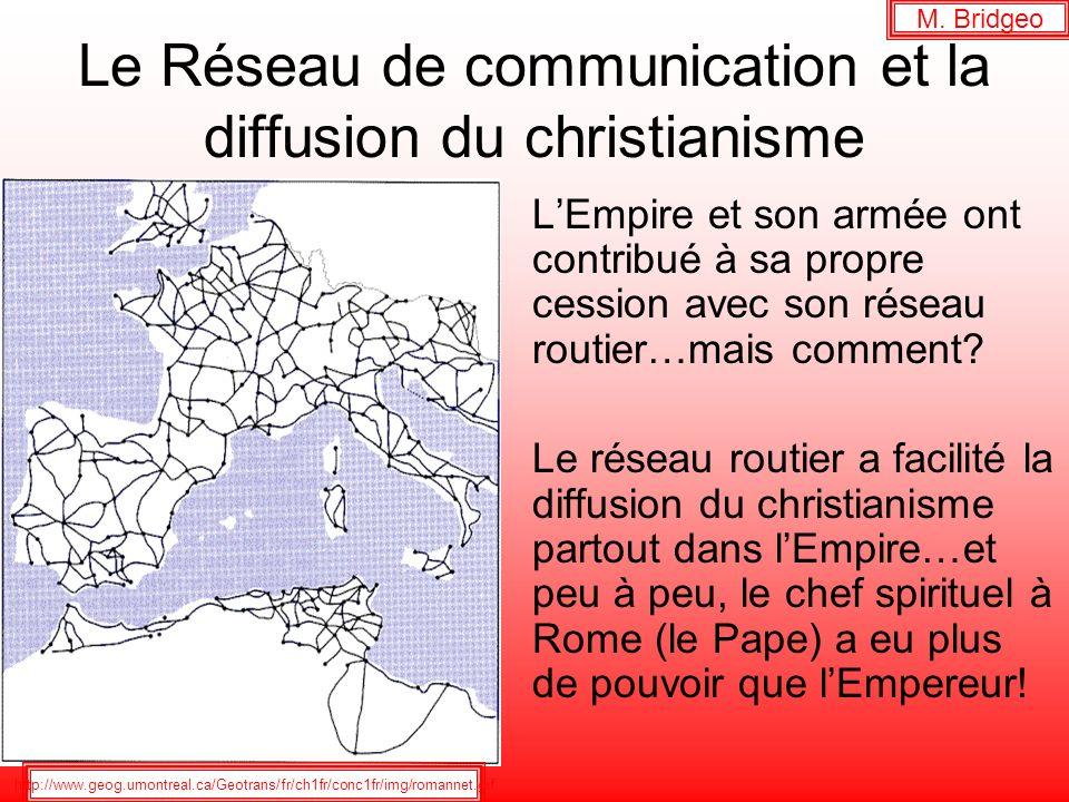 Le Réseau de communication et la diffusion du christianisme