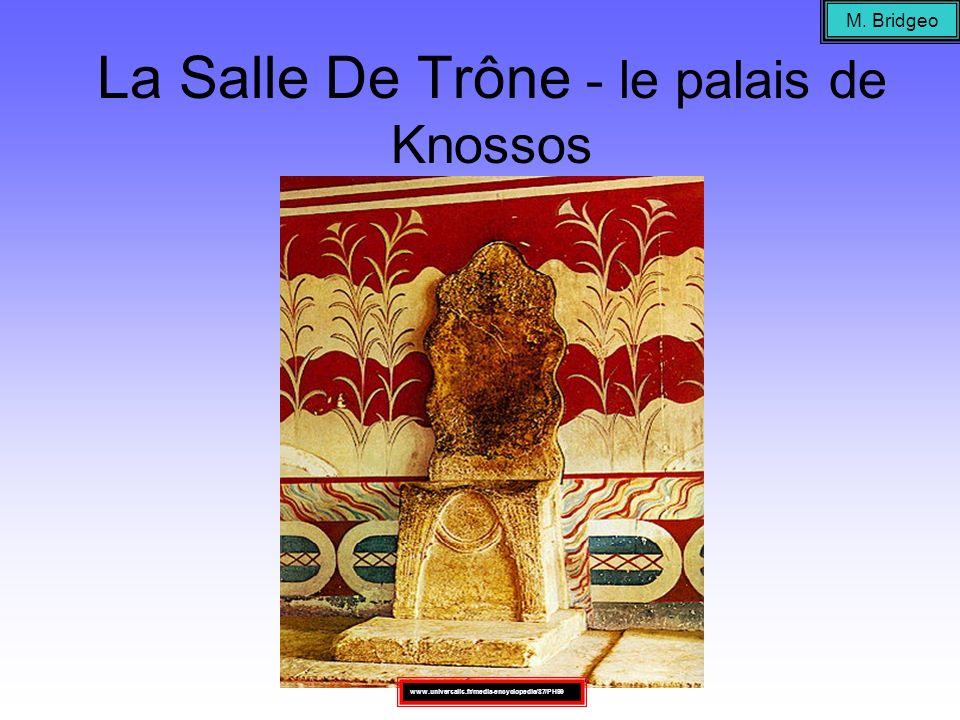 La Salle De Trône - le palais de Knossos