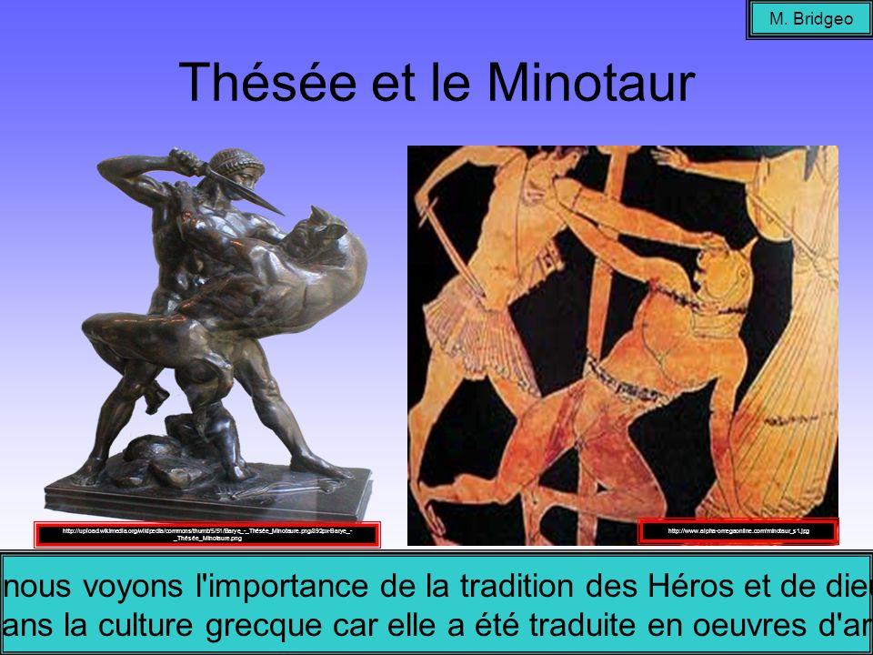 M. Bridgeo Thésée et le Minotaur.