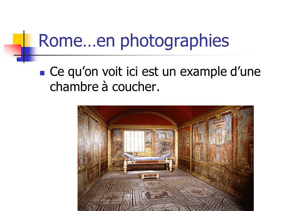 Rome…en photographies