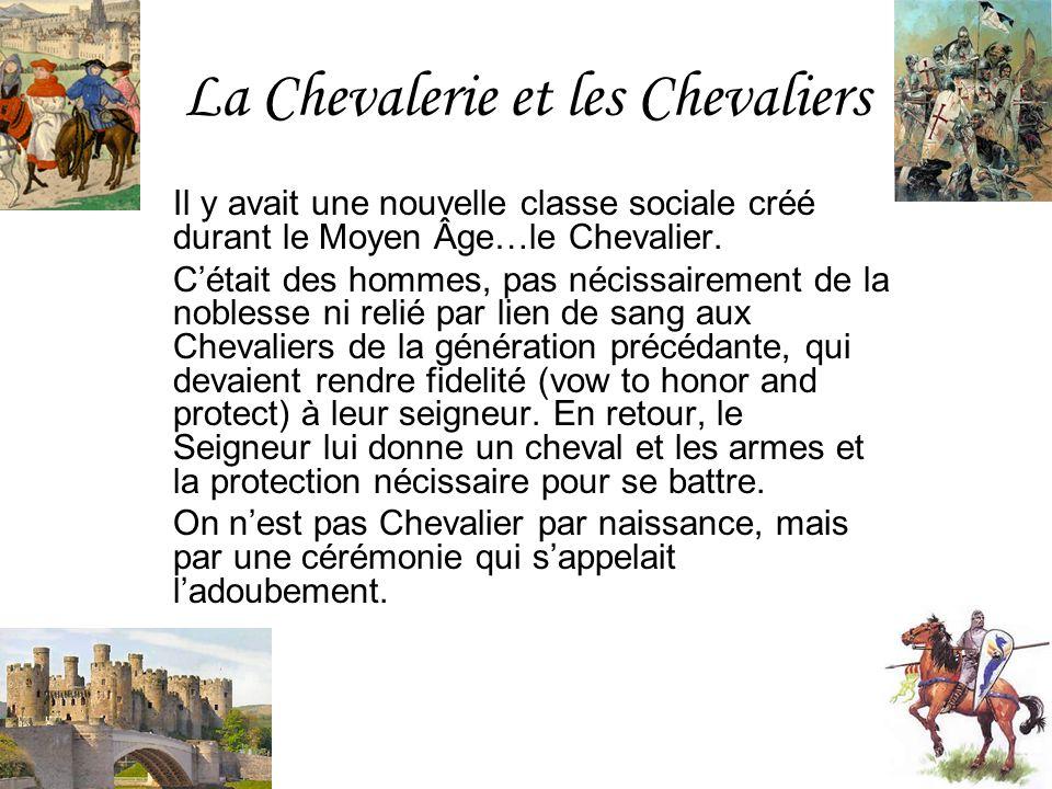 La Chevalerie et les Chevaliers