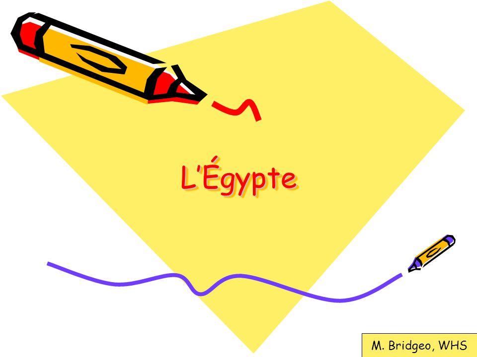 L'Égypte M. Bridgeo, WHS