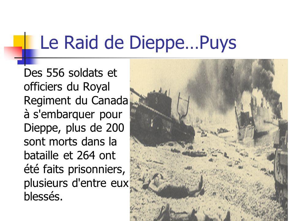 Le Raid de Dieppe…Puys