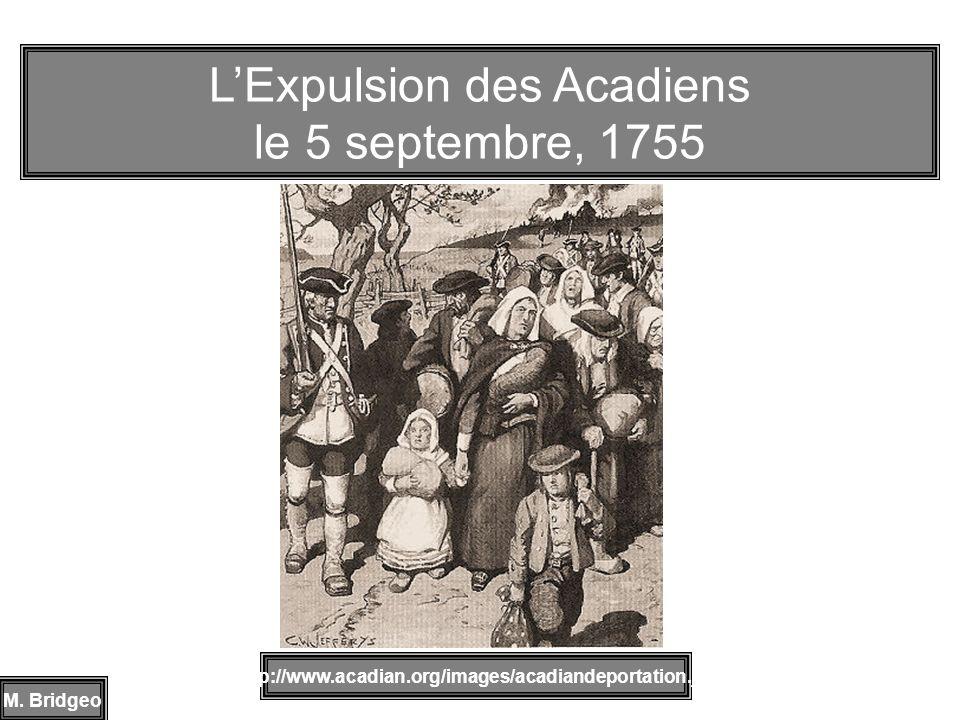 L'Expulsion des Acadiens