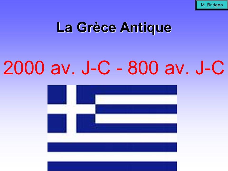 La Grèce Antique 2000 av. J-C - 800 av. J-C