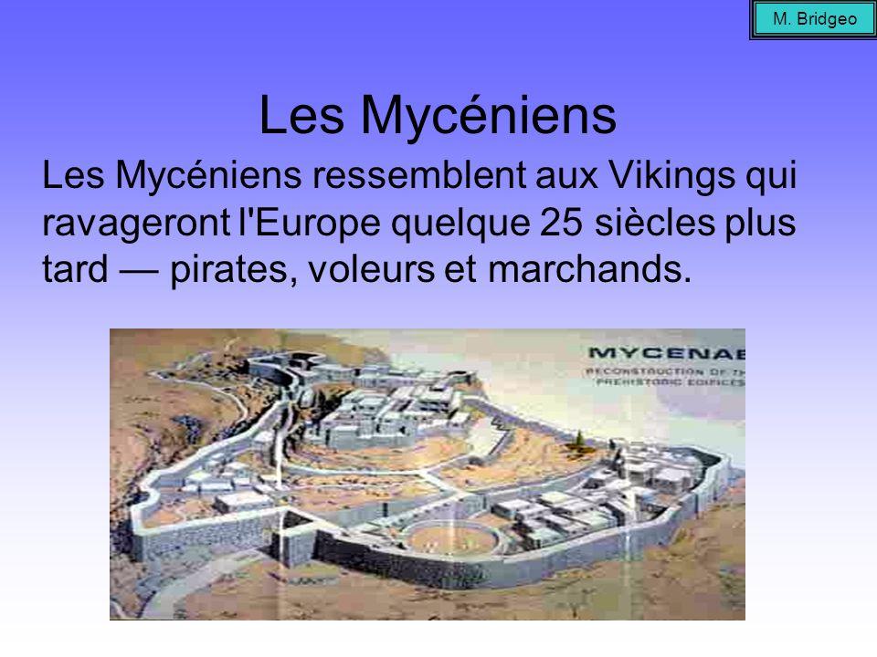 M.BridgeoLes Mycéniens.
