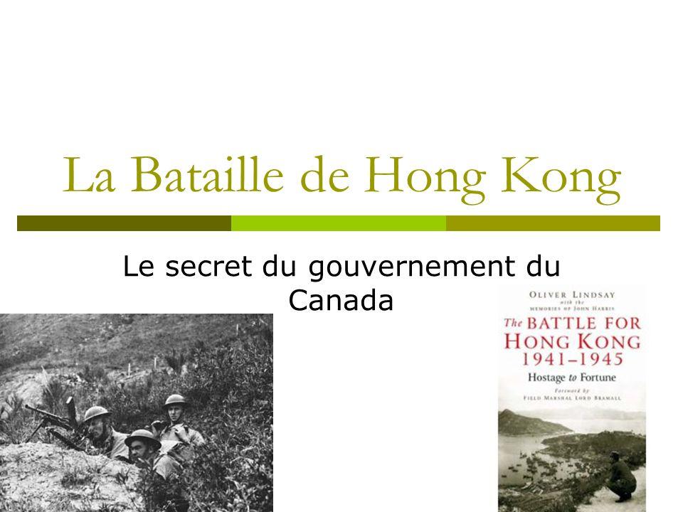 La Bataille de Hong Kong