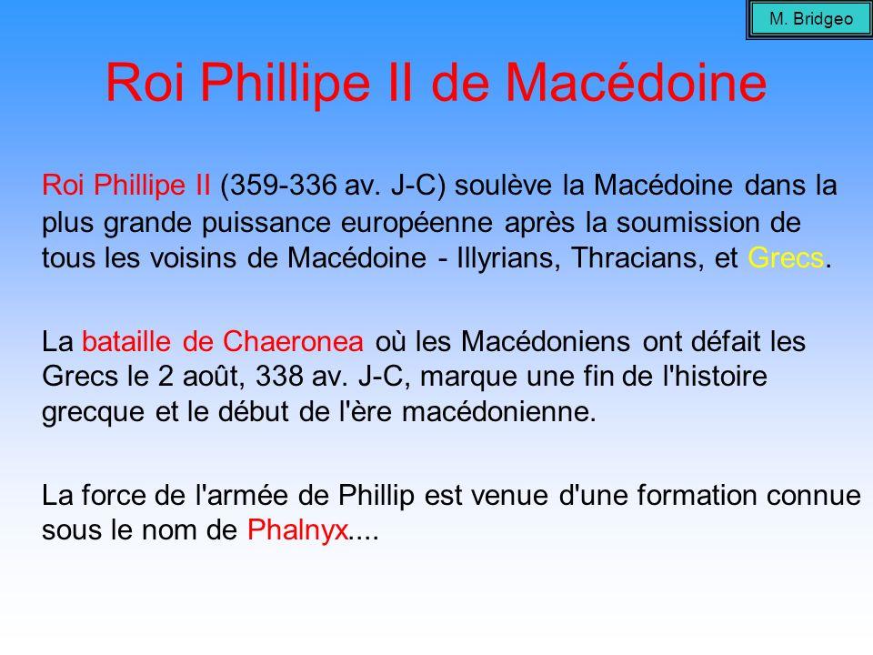 Roi Phillipe II de Macédoine