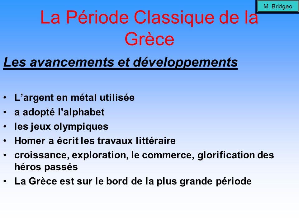 La Période Classique de la Grèce