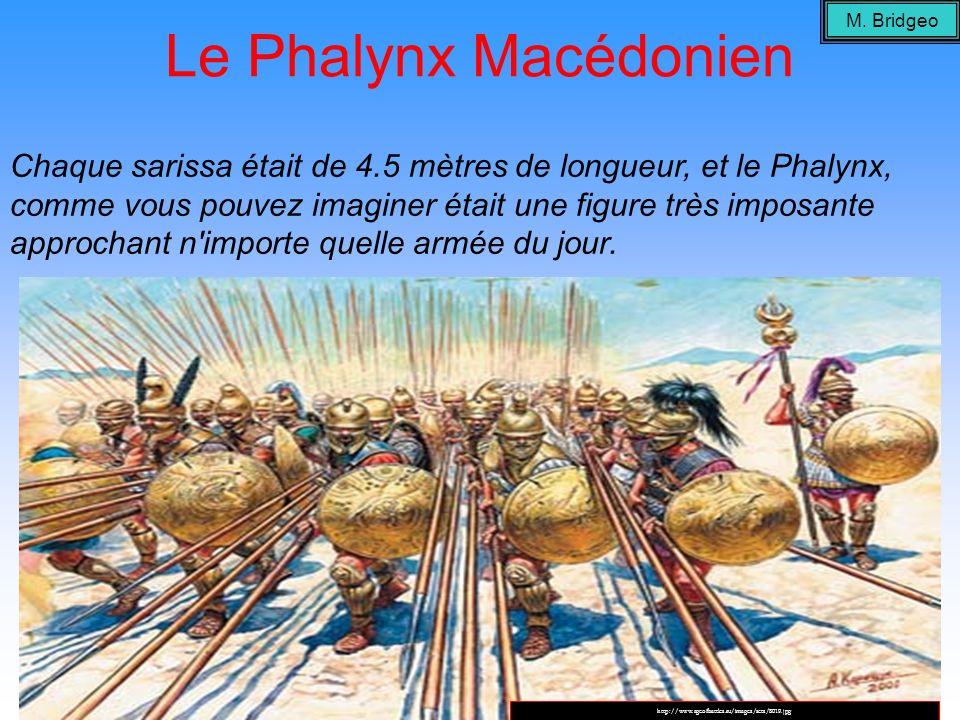 M. Bridgeo Le Phalynx Macédonien.