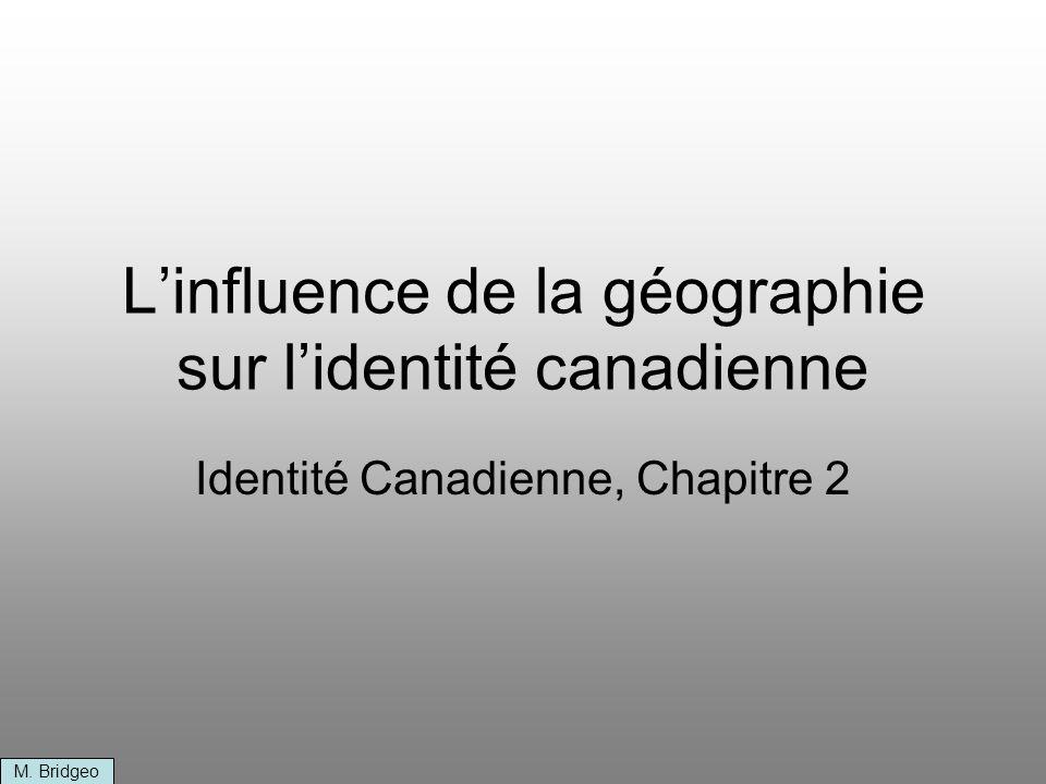 L'influence de la géographie sur l'identité canadienne