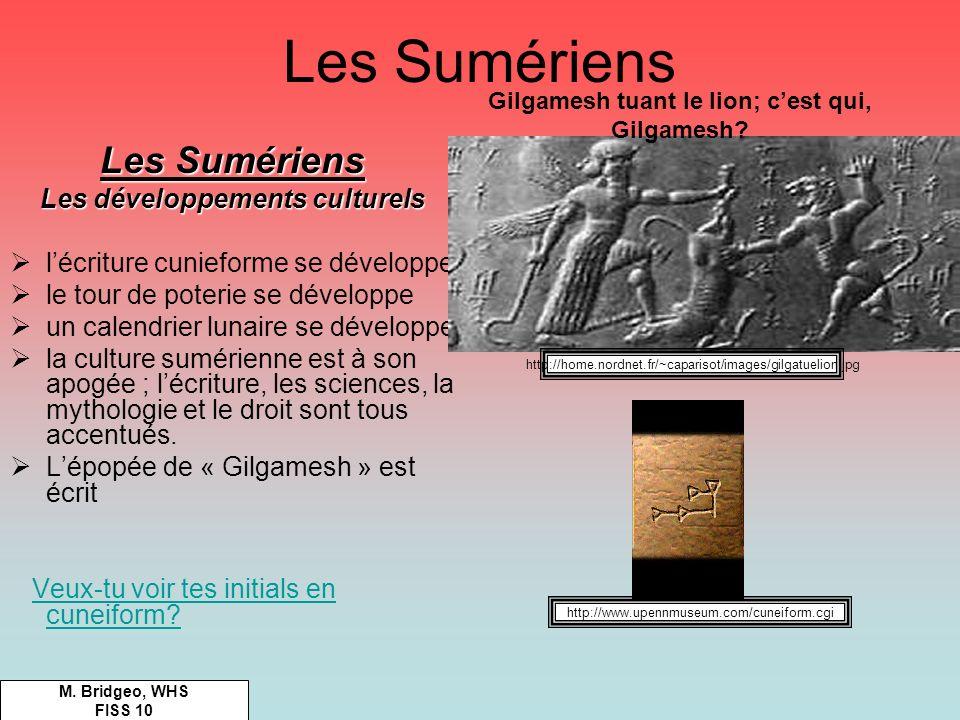 Gilgamesh tuant le lion; c'est qui, Gilgamesh