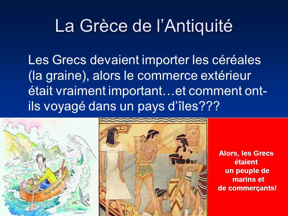 La Grèce de l'Antiquité