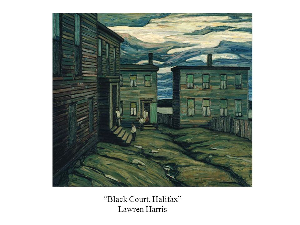 Black Court, Halifax Lawren Harris