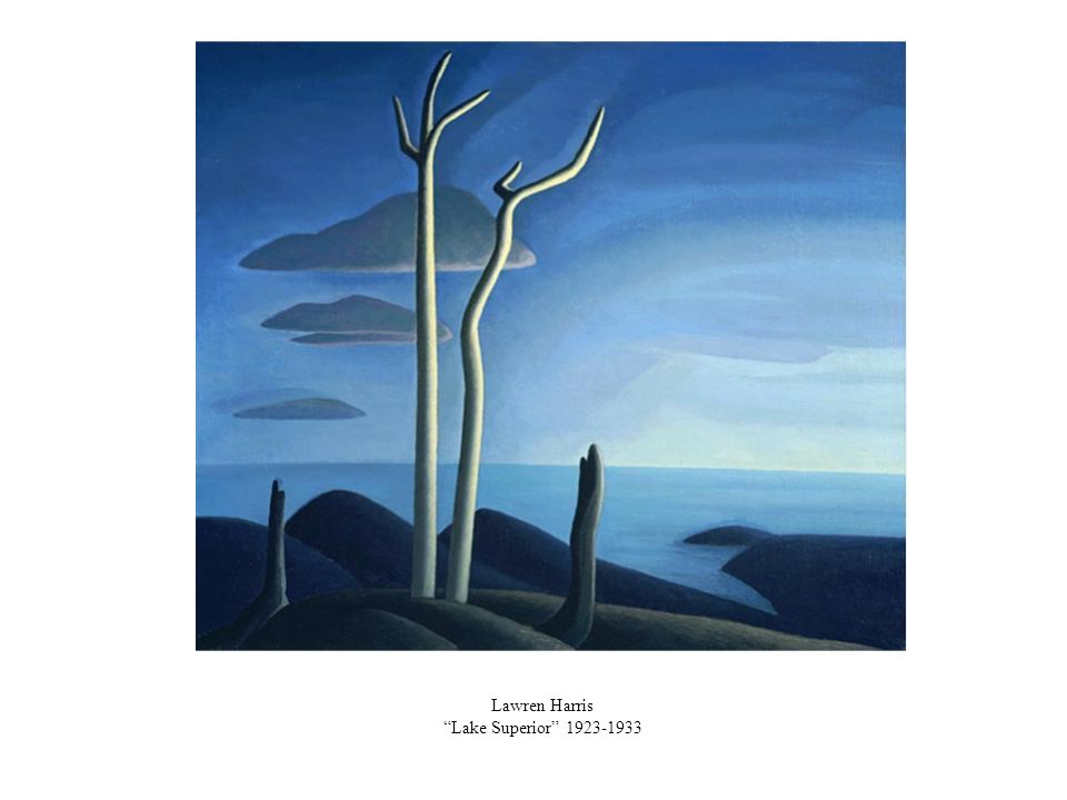 Lawren Harris Lake Superior 1923-1933