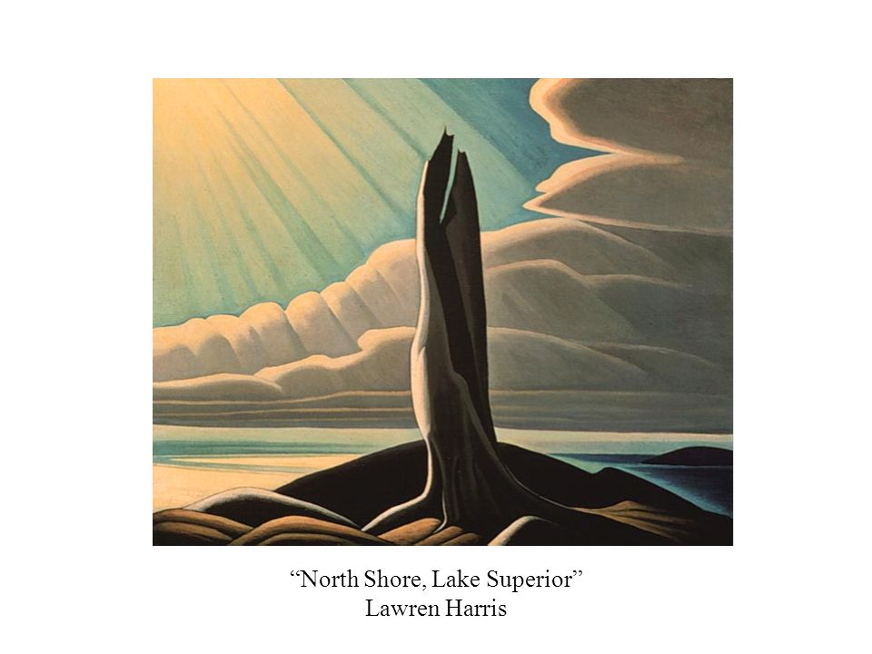 North Shore, Lake Superior Lawren Harris