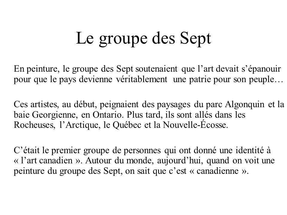 Le groupe des Sept
