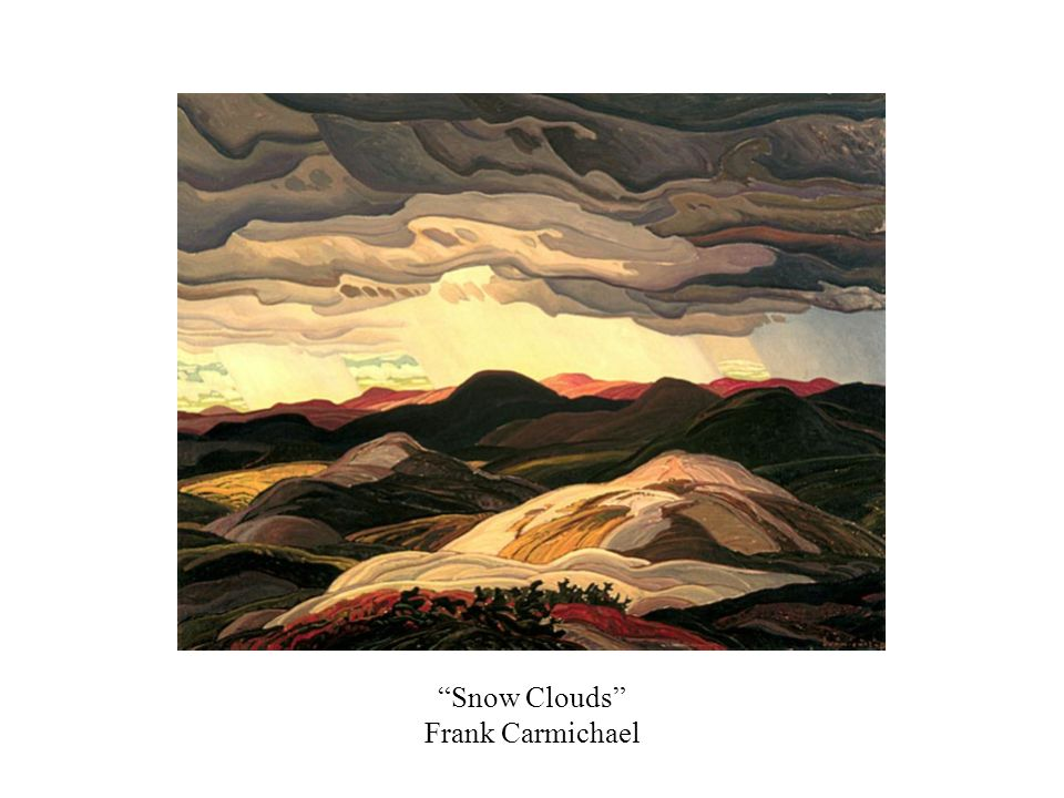 Snow Clouds Frank Carmichael
