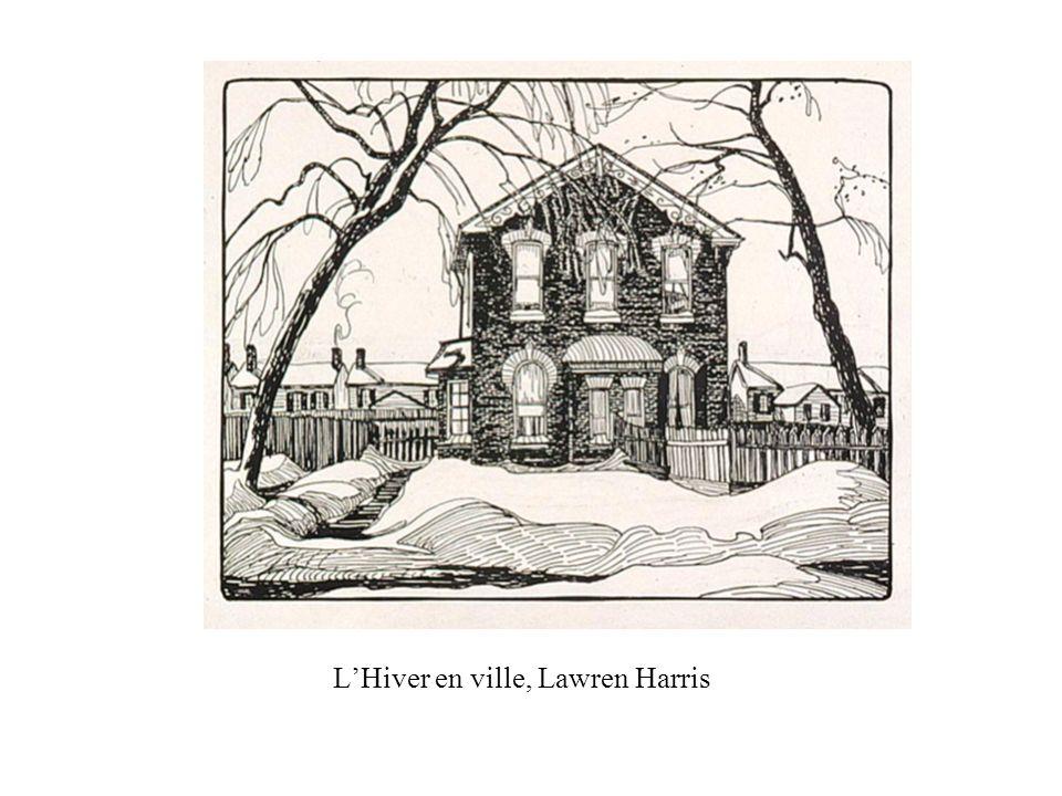 L'Hiver en ville, Lawren Harris