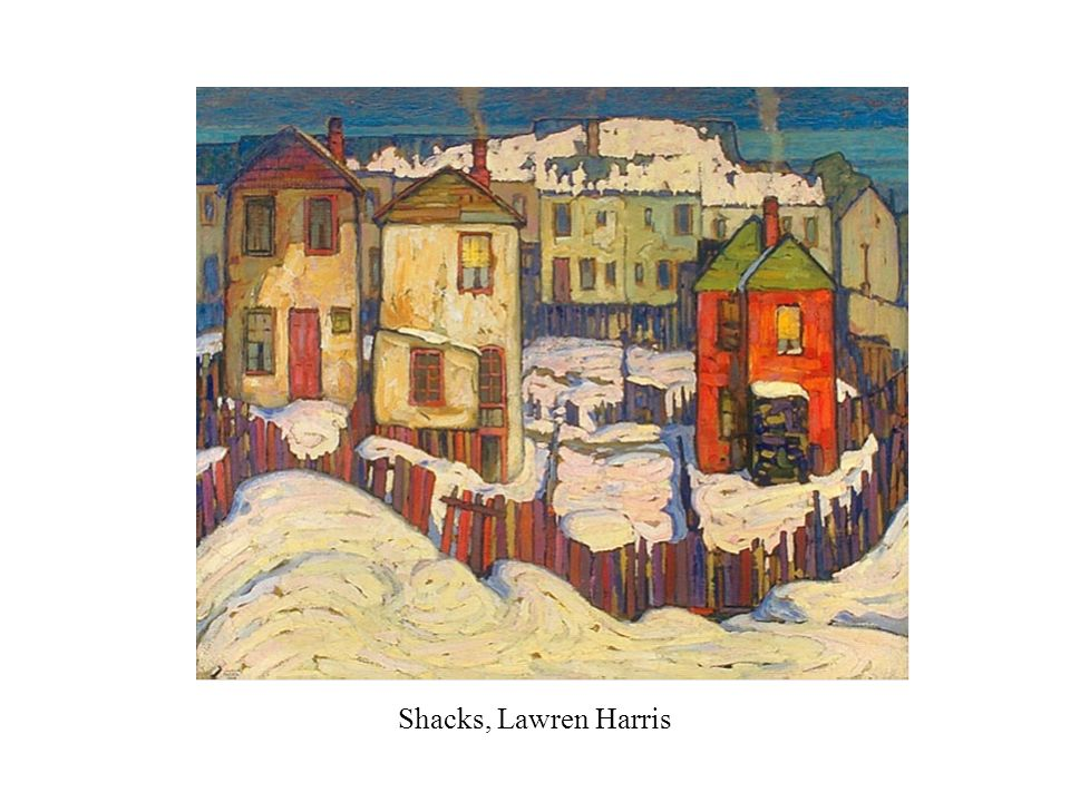 Shacks, Lawren Harris