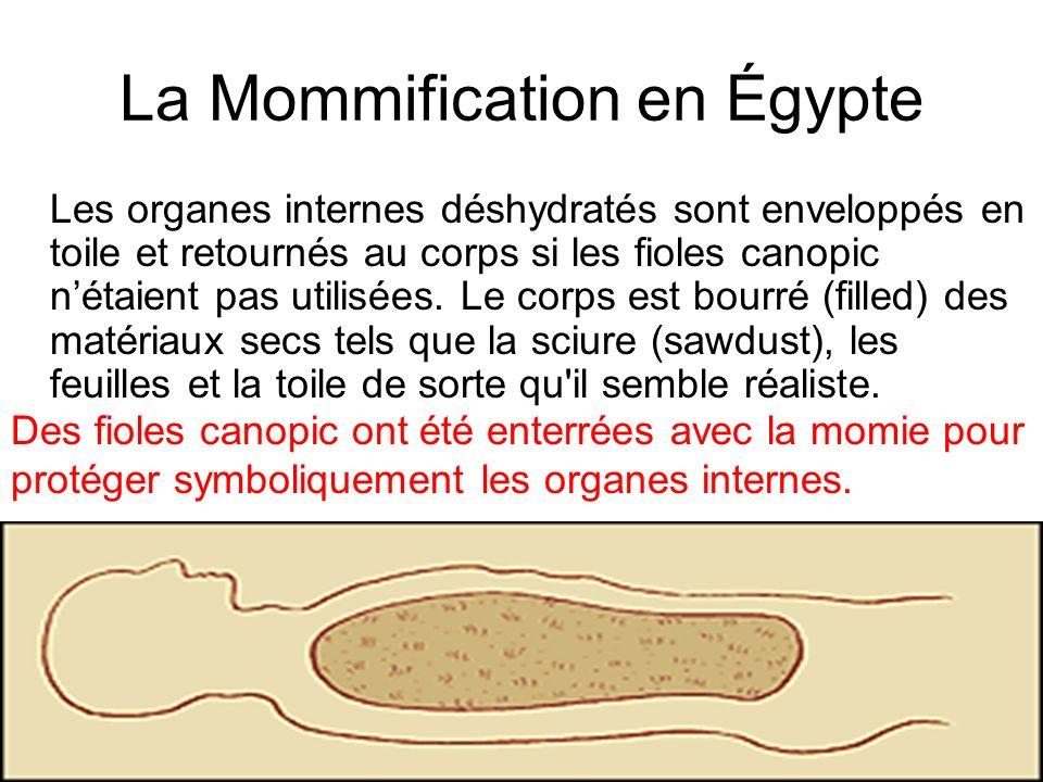 La Mommification en Égypte