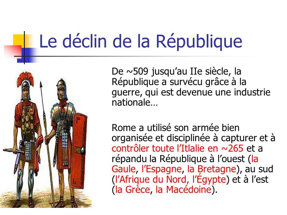 Le déclin de la République