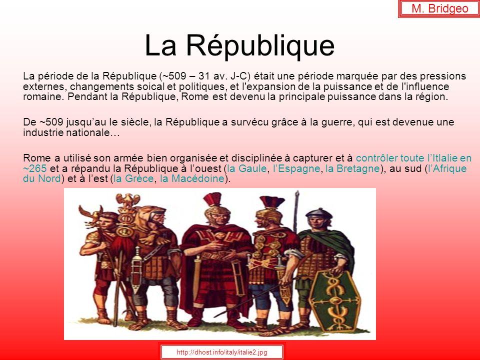 La République M. Bridgeo
