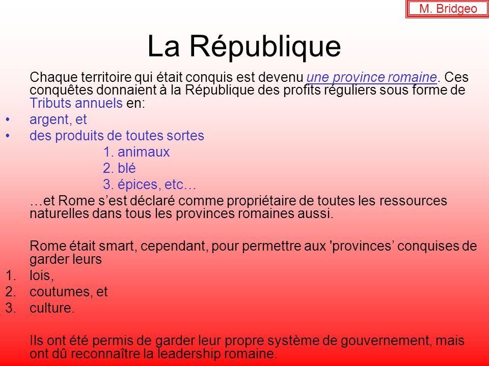 M. Bridgeo La République.
