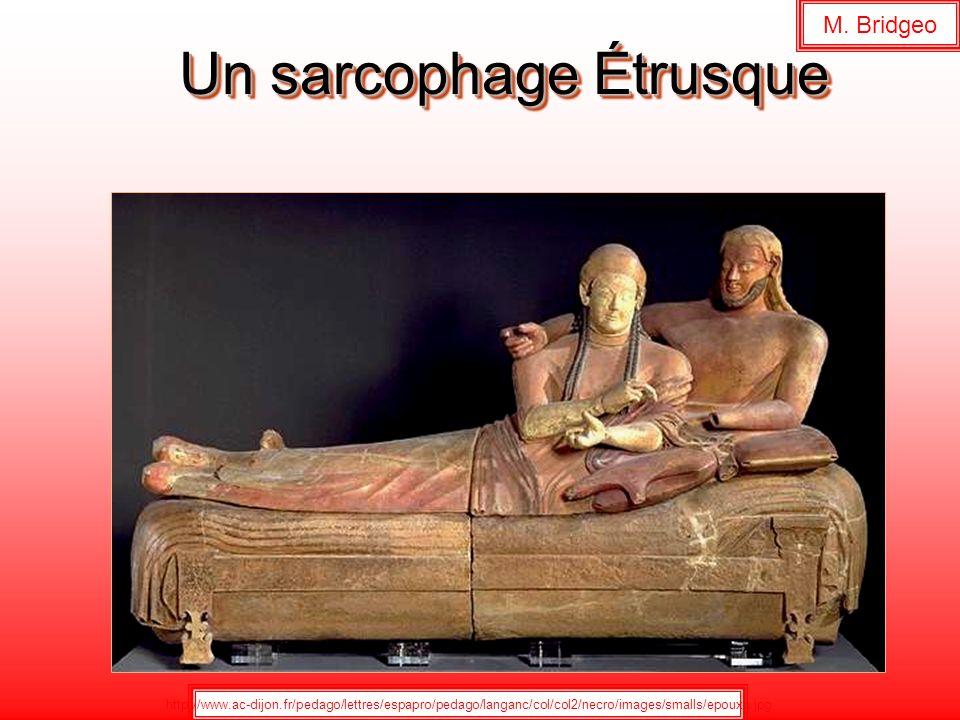 Un sarcophage Étrusque