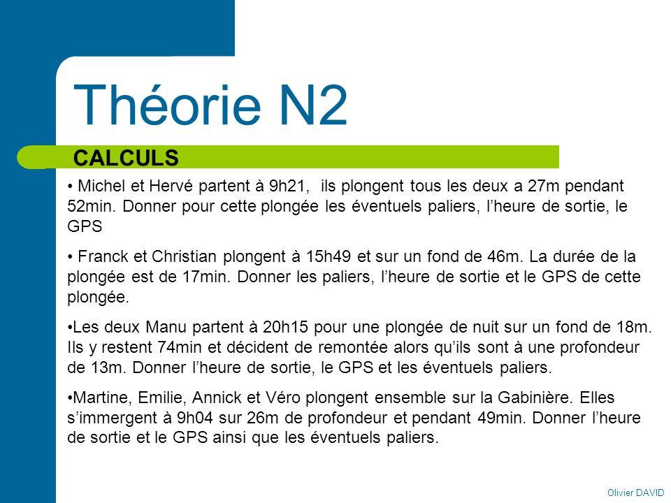 Théorie N2 CALCULS.
