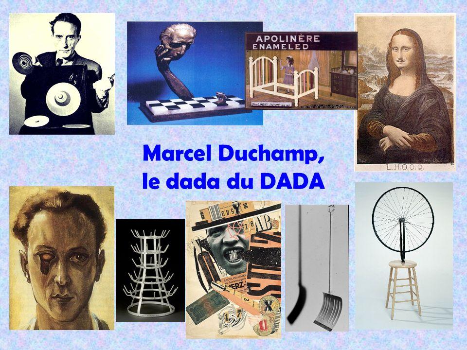 Marcel Duchamp, le dada du DADA