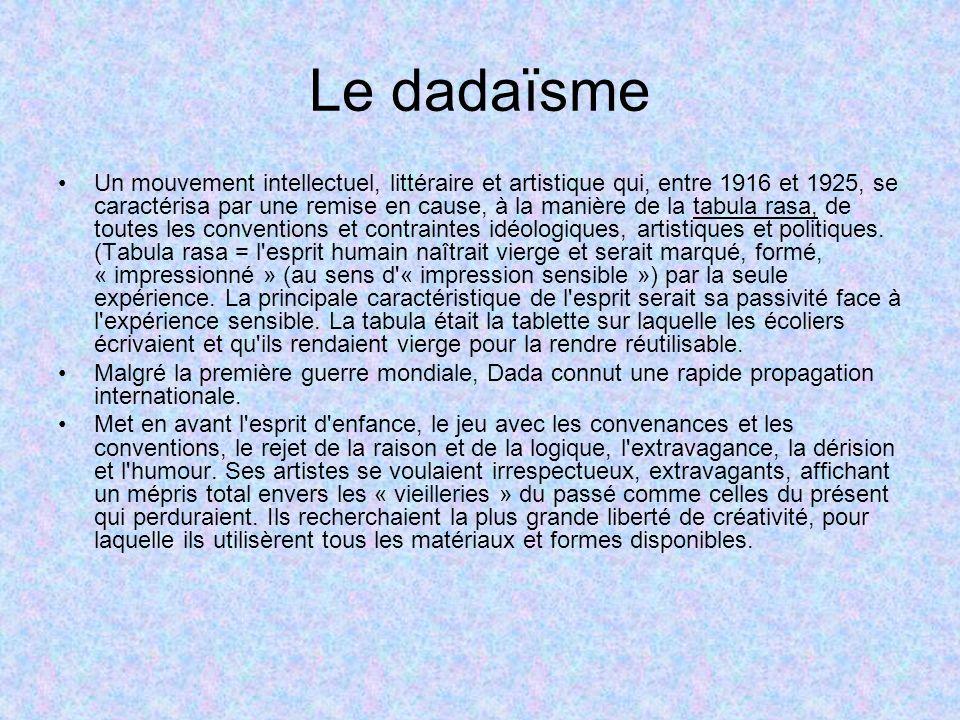 Le dadaïsme