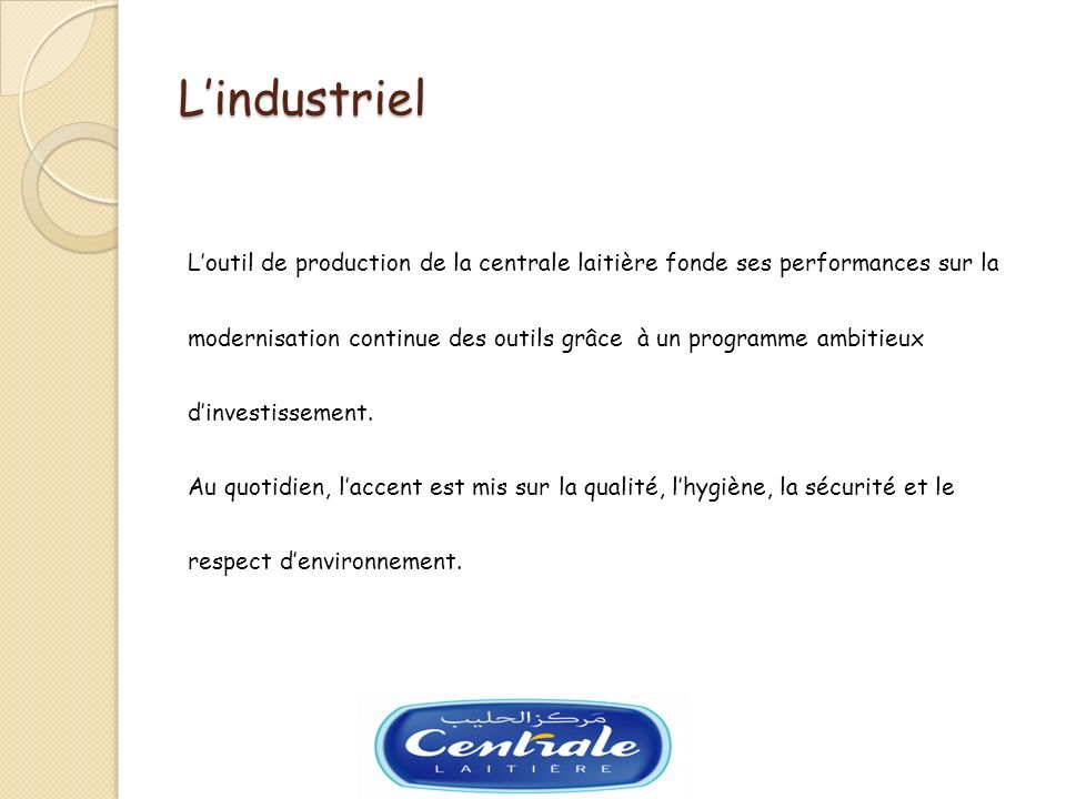 L'industriel