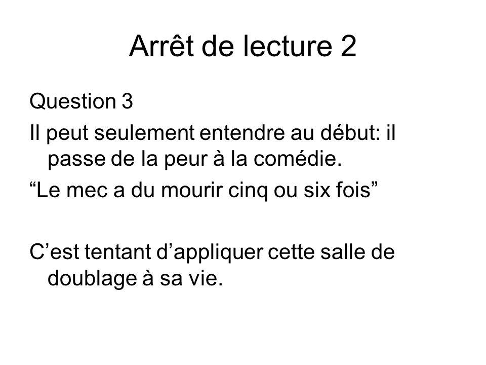 Arrêt de lecture 2 Question 3