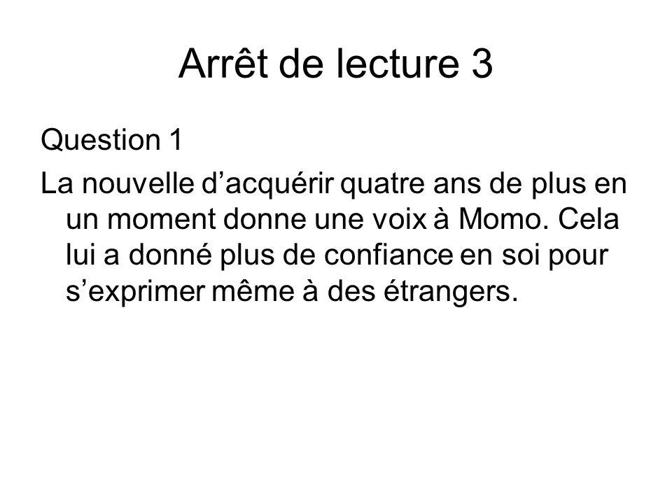 Arrêt de lecture 3 Question 1