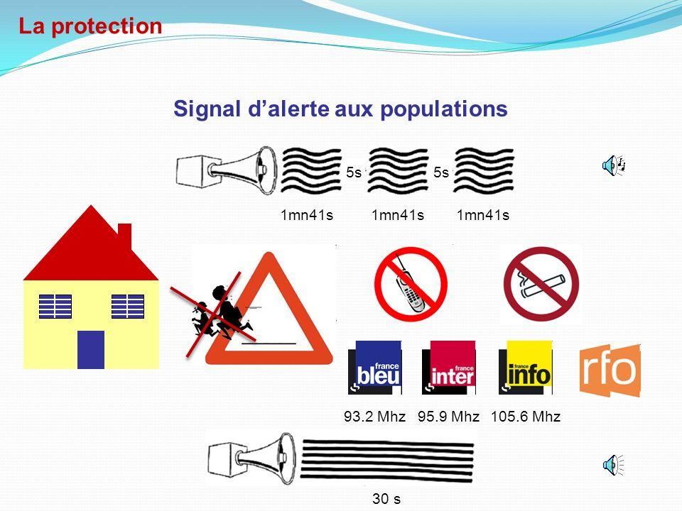 Signal d'alerte aux populations
