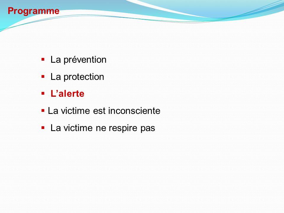Programme La prévention. La protection. L'alerte.