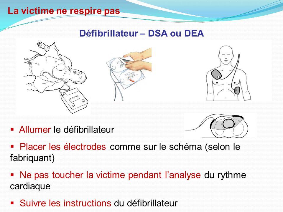 Défibrillateur – DSA ou DEA