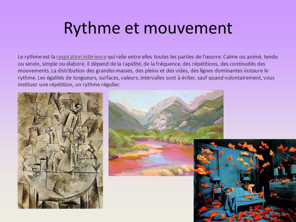 Rythme et mouvement