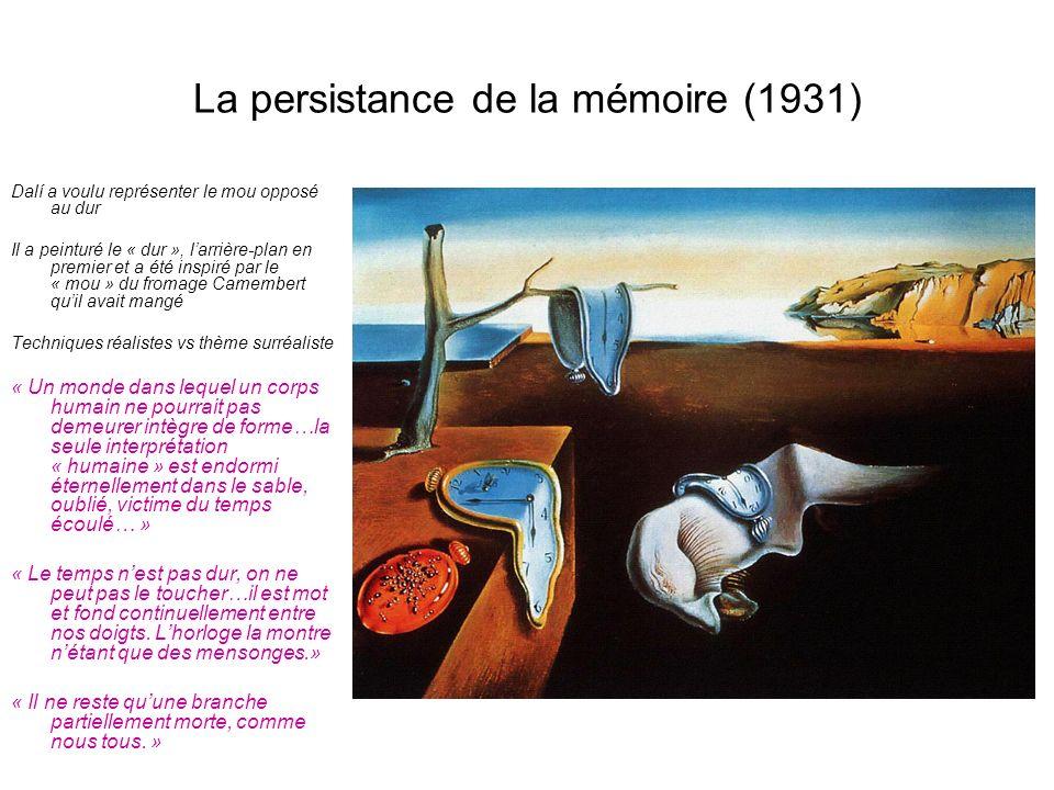La persistance de la mémoire (1931)