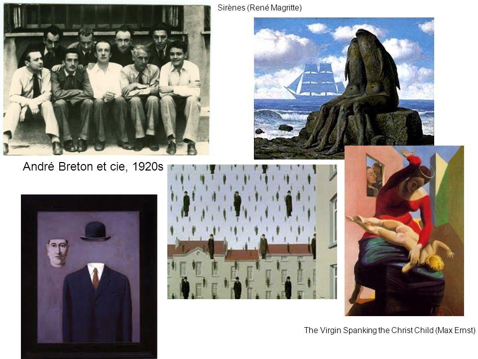 André Breton et cie, 1920s Sirènes (René Magritte)