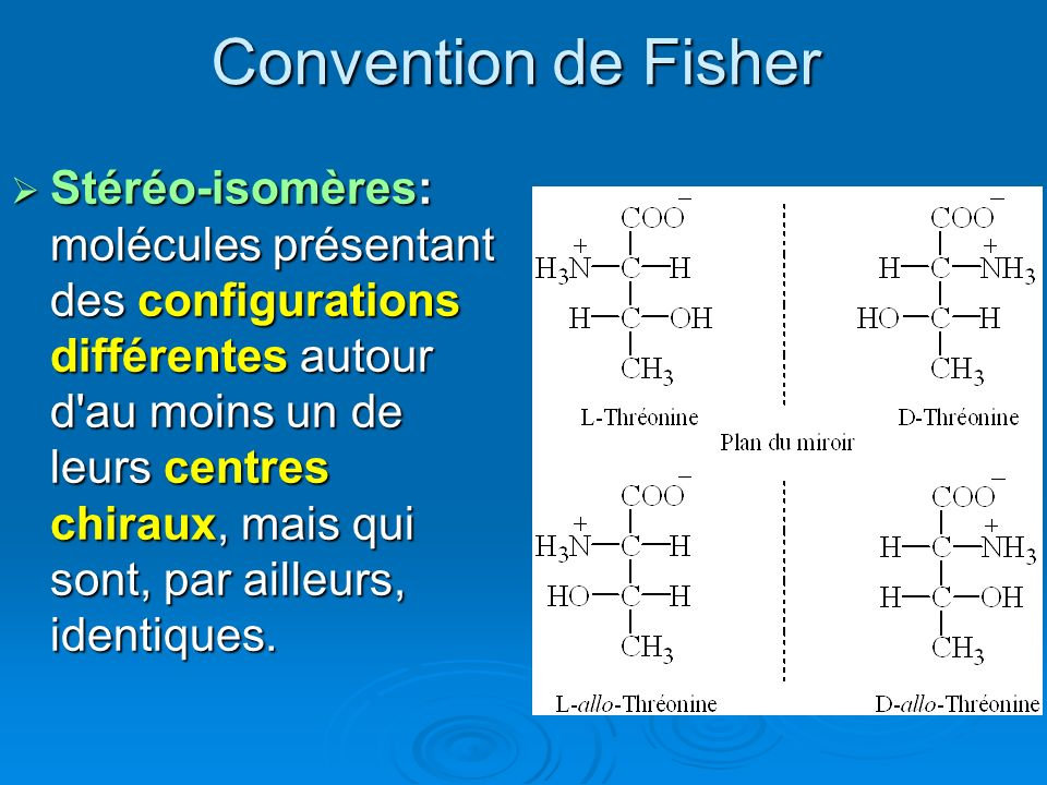 Convention de Fisher