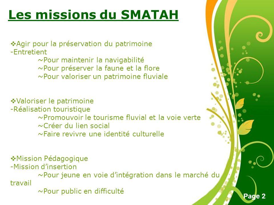 Les missions du SMATAH Agir pour la préservation du patrimoine
