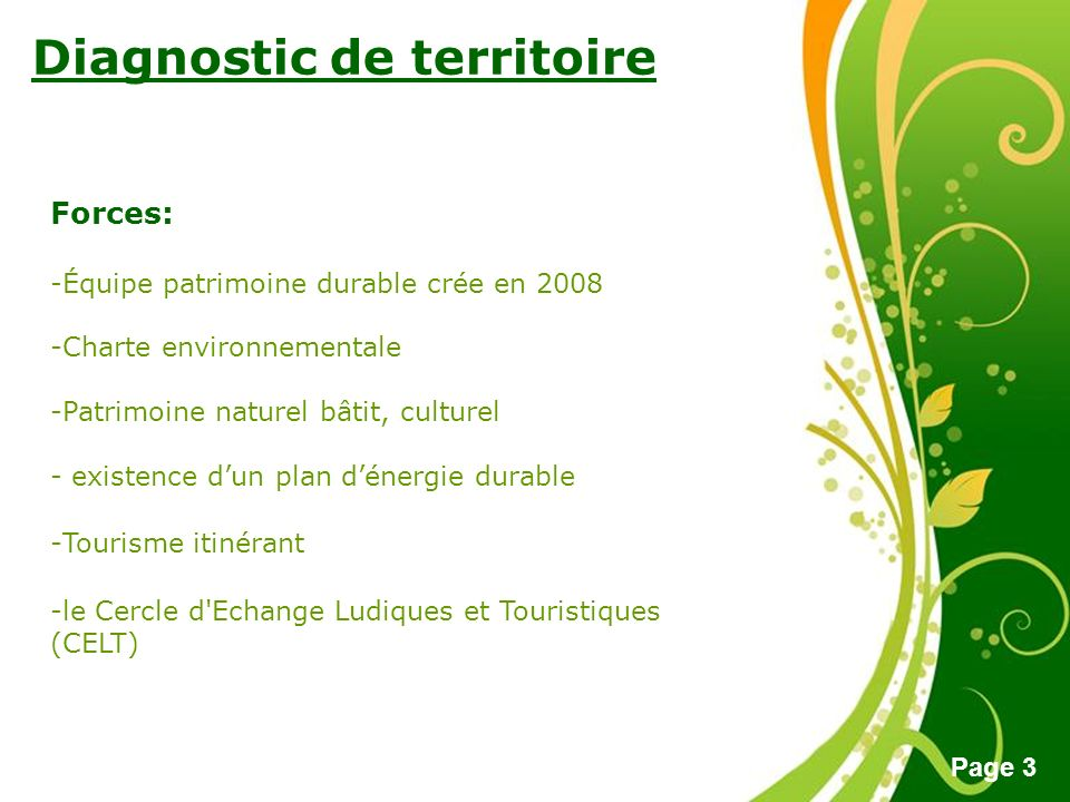 Diagnostic de territoire