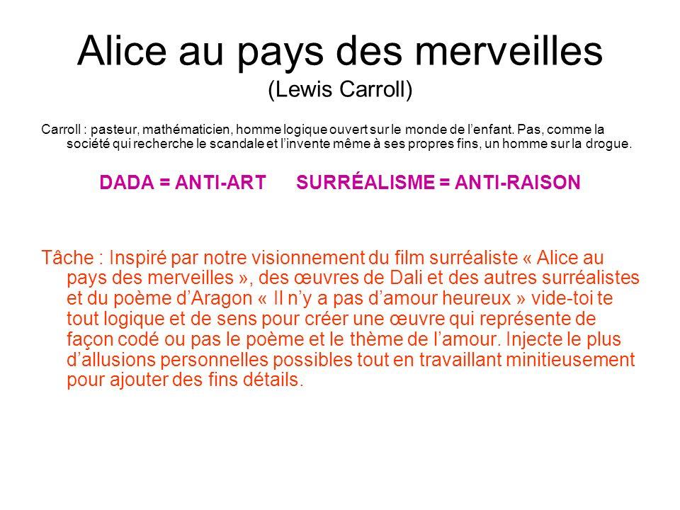 Alice au pays des merveilles (Lewis Carroll)