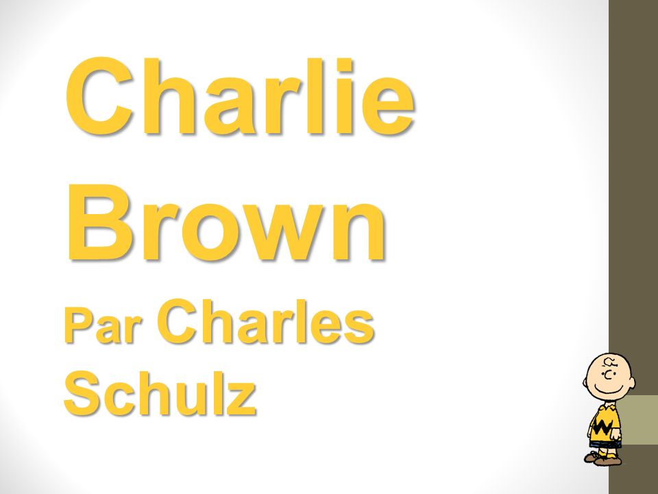 Charlie Brown Par Charles Schulz